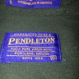 Pendleton Shirts - Pendleton Wool Shirt
